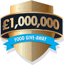 One million pound food giveaway!