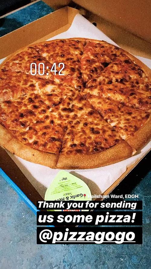 Pizza GoGo NHS Donation Hailsham