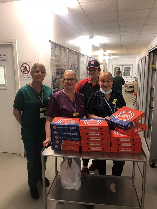 Pizza GoGo NHS Conquest Hospital, Hastings